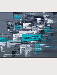 tanie -Hang-Malowane obraz olejny Ręcznie malowane - Abstrakcja Krajobraz Nowoczesne Nowoczesny Naciągnięte płótka