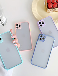 cheap -Shockproof PC Case for Apple iPhone 11 Pro Max X XR XS Max 8 Plus 7 Plus 6 Plus SE Multicolor Candy Back Cover