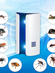 cheap -2 Pcs Multifunction electronic ultrasonic pan type repellent mouse insect mosquito spider repellent insect repellent killer