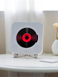 cheap -Wall Mounted CD Player Surround Sound FM Radio Bluetooth USB MP3 Disk Portable Music Player Remote Control Stereo Speaker Home