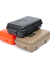 cheap -Waterproof Case Waterproof Survival Convenient Nylon Hiking Camping Outdoor Indoor Travel Black Orange Khaki 1 pcs