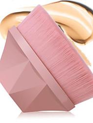 billiga -Professionell Makeupborstar 1 st. Mjuk Syntetiskt Hår Plast för Foundationborste / #