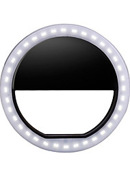 billiga -Runda LED-kläder Nattbelysning 3 lägen / Bimbar / Enkel att bära On / Off AA Batterier Drivs 4pcs / 2pcs / 1st