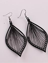 cheap -Women's Drop Earrings Dangle Earrings Hollow Out Earrings Jewelry Black For