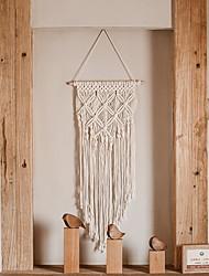 cheap -Hot sales 100% handmade macrame plant hanger flower /pot hanger for wall decoration countyard garden