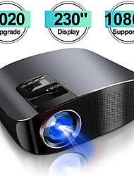 cheap -2020 Projector YG600 HD Video Projector Beamer Outdoor Movie Projector Home Theater Projector Support 1080P Compatible with TV Stick PS4 HDMI VGA AV and USB
