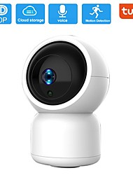 cheap -1080P Security Camera HM203 UG WiFi Home Indoor Camera with Smart Night Vision/2 Way Audio/Motion Detection Wireless IP Dog Camera for Baby/Pet/Nanny Monitor Cloud/MicroSD Support