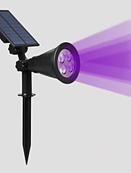 Недорогие -светодиодный солнечный сад газон лампы водонепроницаемый открытый уличный фонарь RGB прожекторы садовое освещение ландшафтный светильник