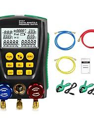 cheap -DY517 Pressure Gauge Refrigeration Digital Vacuum Pressure Manifold Tester Meter HVAC Temperature Tester