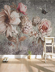 cheap -Custom Self-adhesive Mural Wallpaper Hand-painted Large Flower Background Wall Suitable for Bedroom Living Room Coffee Shop Restauran