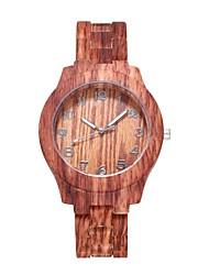 cheap -Women's Quartz Watches Quartz Stylish Fashion Adorable Analog Wood White Brown / One Year / One Year