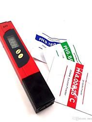 cheap -Digital PH Meter Testing Pen PH Tester Monitor 0-14PH With ATC protable PH meters