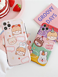 cheap -Cute Cartoon bear pattern Phone Case for iPhone 11 Pro Max XS Max XR 8 7  Plus  se 2020 Soft Silicone Back Cover