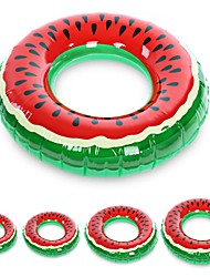 cheap -Inflatable Children's float watermelon Swimming Circle Adult Pool Floats Rubber Ring Donut Swim Tube Kid Pool Toys