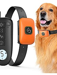 cheap -Pet Dog Shock Collar With Remote 1000ft Range Electric Collars for Pet Waterproof Dog Training Collar for Small Medium Large Dogs