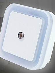 cheap -LED Night Light Mini Light Sensor Control 110V 220V EU US Plug Nightlight Lamp For Children Kids Living Room Bedroom Lighting