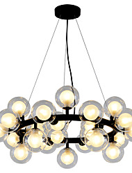 cheap -72 cm Globe Design Chandelier Metal Globe Electroplated  Painted Finishes Modern  Nordic Style Generic