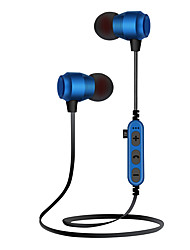 cheap -Ms-t19 Wireless Headset Magnetic MP3 Bluetooth Running Headset Support TF Memory Card Plug