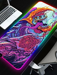 cheap -250*350*4 mm  Gaming Mouse Pad Luminous Mouse Pad Rubber Cloth Dest Mat