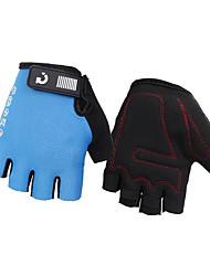 cheap -Bike Gloves / Cycling Gloves Anti-Slip Anti-Shake / Damping Lightweight Breathable Fingerless Gloves Half Finger Sports Gloves Black Red Grey for Adults' Cycling / Bike / Sweat wicking