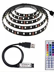 cheap -2m Light Sets LED Light Strips RGB Tiktok Lights 60 LEDs SMD5050 1 set Waterproof USB Party 5 V USB Powered