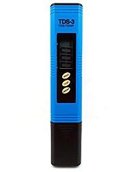 Недорогие -tds-3 tds-3 цифровой 0-9990ppm фильтр для воды качество воды тестер чистоты ручка (синий)