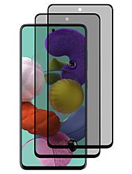 Недорогие -SamsungScreen ProtectorSamsung Galaxy A20 (2019) Защита от царапин Защитная пленка для экрана 2 штs Закаленное стекло