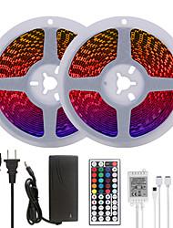 cheap -MASHANG Bright RGB LED Strip Lights 32.8ft 10M RGB Tiktok Lights 1200LEDs SMD 5050 with 44 Keys IR Remote Controller and 100-240V Adapter for Home Bedroom Kitchen TV Back Lights DIY Deco