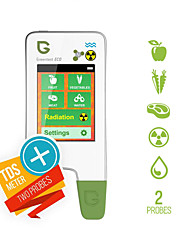 cheap -Greentest nitrate tester Eco 5 food tester water nitrate test Radiation detector geiger counter meat fruit vegetables-EU PLUG