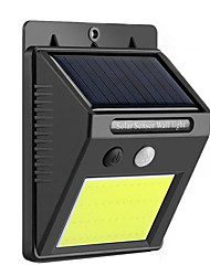abordables -8w lámpara solar cob cob 48led lámpara de pared de inducción del cuerpo humano iluminación de la lámpara de jardín impermeable al aire libre