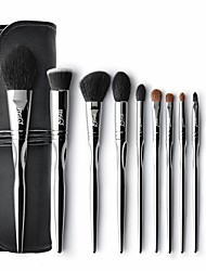 cheap -Professional Makeup Brushes 11pcs Professional Soft Full Coverage Wooden / Bamboo for Blush Brush Foundation Brush Makeup Brush Lip Brush Lash Brush Eyebrow Brush Eyeshadow Brush
