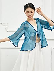 cheap -Ballet Top Bandage Women's Training Performance 3/4 Length Sleeve High Polyester