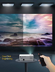 cheap -LITBest CL770 LED Projector  1920x 1080P Projector 4000 Lux Upgrade Full HD Video Projector Support 4K LCD LED Home Theater Projector