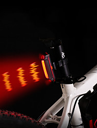 cheap -LED Bike Light Rear Bike Tail Light LED Bicycle Cycling Portable Wide Angle Quick Release Li-polymer 110 lm Rechargeable Battery RGB Red Cycling / Bike
