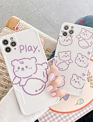 cheap -IMD Design Cartoon Cat TPU for Apple iPhone Case 11 Pro Max X XR XS Max 8 Plus 7 Plus SE(2020) Protection Cover