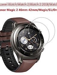 Недорогие -2 шт. Защитная пленка для часов Huawei / часы 2 / часы 2 2018 / часы 2 Pro / Honory Magic 2 46 мм 42 мм / магия / s1 / часы мечты закаленное стекло прозрачное высокое разрешение (HD) царапинам /
