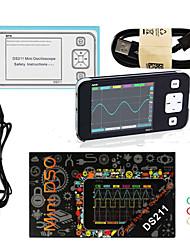 Недорогие -портативный цифровой осциллограф mini ds211 ds211 arm nano pocket