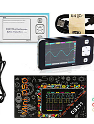 cheap -MINI DS211 DS211 ARM Nano Pocket Portable Digital Oscilloscope