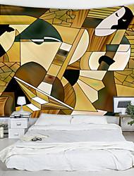 economico -carattere astratto puzzle stampato arazzo arredamento arte della parete tovaglie copriletto coperta da picnic spiaggia tiro arazzi colorato camera da letto sala dormitorio soggiorno impiccagione