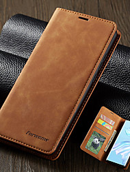 cheap -Magnetic Leather Case For Huawei P40 / Huawei P40 Pro / Huawei P40 lite PU Wallet Flip Stand Cover Case For Huawei Mate 30 / Mate 30 Pro / Mate 30 lite