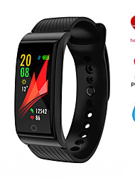 cheap -F4 Unisex Smartwatch Smart Wristbands Bluetooth Waterproof Heart Rate Monitor Sports Long Standby Distance Tracking Stopwatch Pedometer Call Reminder Sleep Tracker Sedentary Reminder