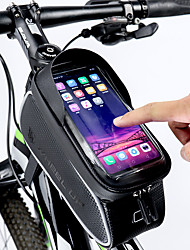 cheap -Wheel up Cell Phone Bag Bike Frame Bag Top Tube 6 inch Touch Screen Reflective Waterproof Cycling for All Phones iPhone X iPhone XR Black Road Bike Mountain Bike MTB / iPhone XS / iPhone XS Max