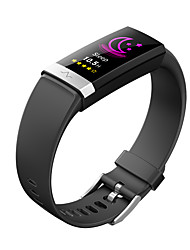 cheap -ECG+PPG Sleep Monitoring Smart Watch V19 Unisex Smart Wristbands Android iOS Bluetooth Waterproof Heart Rate Monitor Blood Pressure Measurement Health Care Blood Oxygen Monitor ECG+PPG Timer