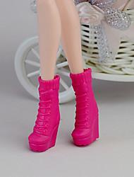 Недорогие -11-дюймовые куклы обувь и туфли на высоких каблуках вспомогательное оборудование ювелирных изделий способа Фантазия детские игрушки игра г