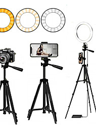 cheap -Selfie Ring Light Led Ring Light Selfie for Youtube Tiktok Phone Holder With Tripod Ring For Photography Lighting Selfie Phone Video