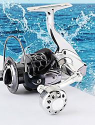 cheap -Fishing Reel Spinning Reel 5.2:1  4.9:1 Gear Ratio+13 Ball Bearings Hand Orientation Exchangable Sea Fishing / Freshwater Fishing / Trolling & Boat Fishing