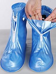 cheap -Unisex Shoe Cover Solid Colored Antibacterial PVC(PolyVinyl Chloride) EU40-EU46
