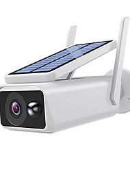 cheap -Xmeye icsee APP Wide View surveillance camera Solar panel Rechargeable Battery 1080P Full HD Outdoor Indoor Security WiFi IP CameraBattery(Not INCLUDED)