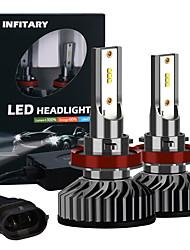 cheap -INFITARY 2pcs H11 Car Light Bulbs LED Headlamps For universal
