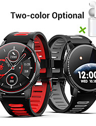 cheap -JSBP The New HL6 Smart Watch BT Fitness Tracker Full Touch Screen Smart Bracelet Heart Rate Blood Pressure Waterproof Sports Stepping Smart Watch factory for Apple/ Samsung/ Android Phones